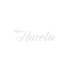 Hurela U Part Wig Human Hair Half Wigs Kinky Straight Hair 150% Density Natural Color With Straps Combs