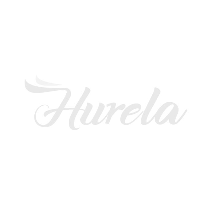 Hurela 1PC Curly Weave Bundle Virgin Remy Human Hair Natural Color
